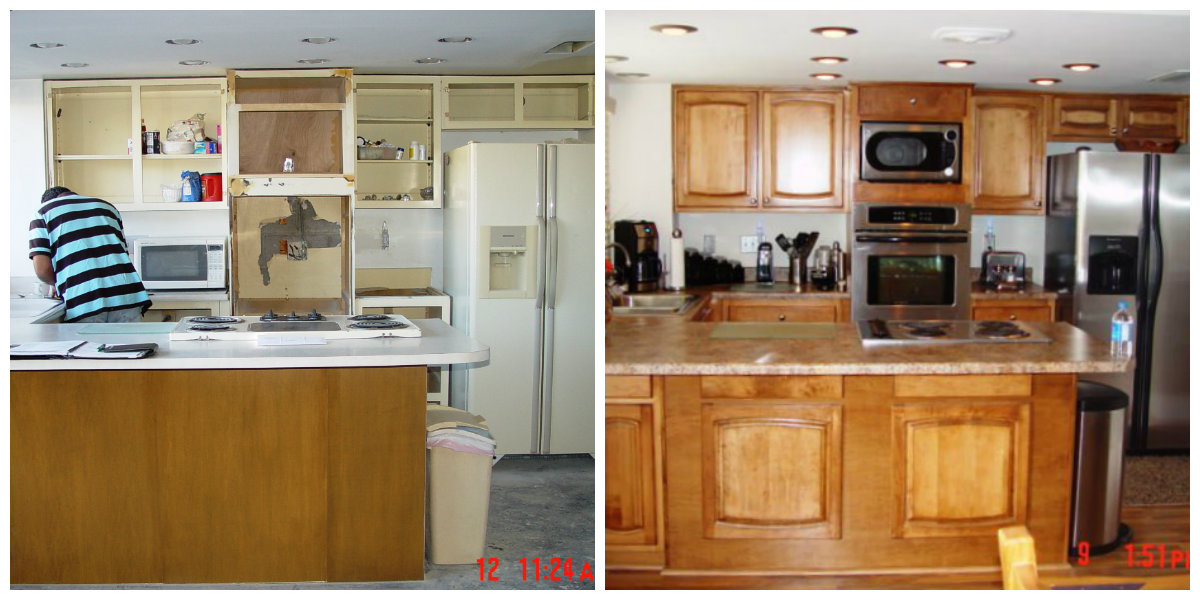 Kichen Remodelling by Kino's Painting & Remodeling