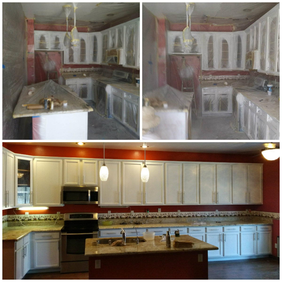 Kitchen Cabinet Painting by Kinos