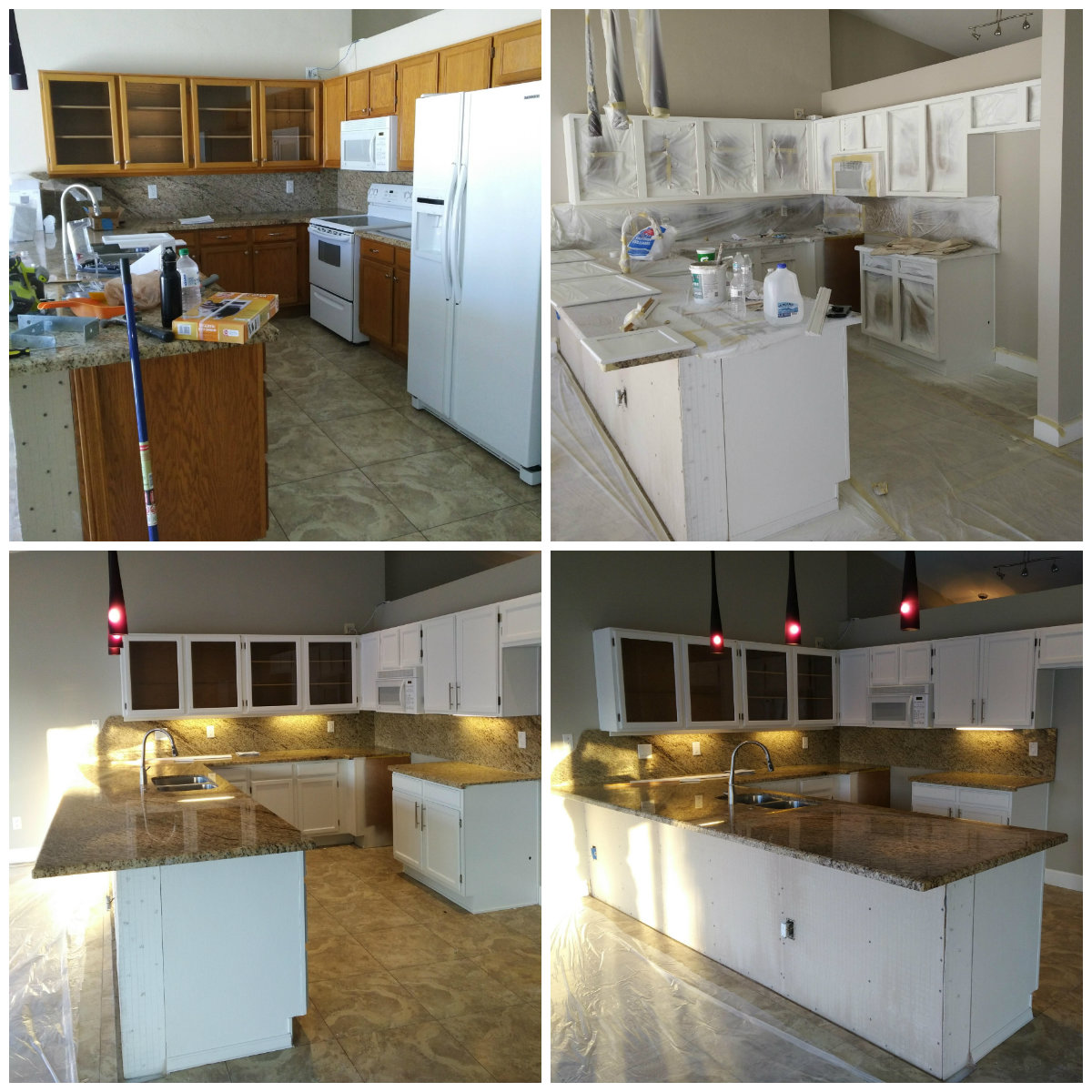 Kitchen Cabinets Refinishing: Kino's Painting & Remodeling