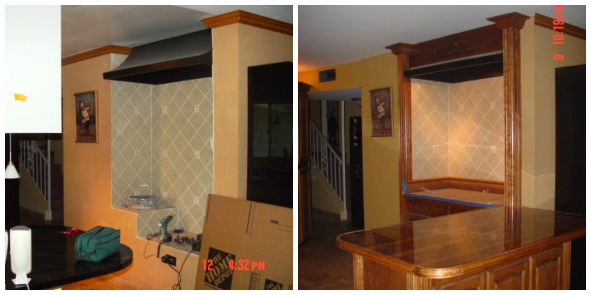 Kitchen Remodel by Kino's Painting & Remodeling